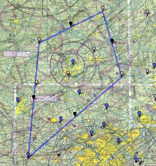 Long Cross Country Flightplan