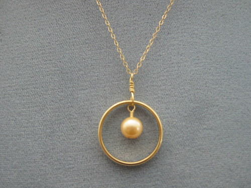 wedding ring pendant