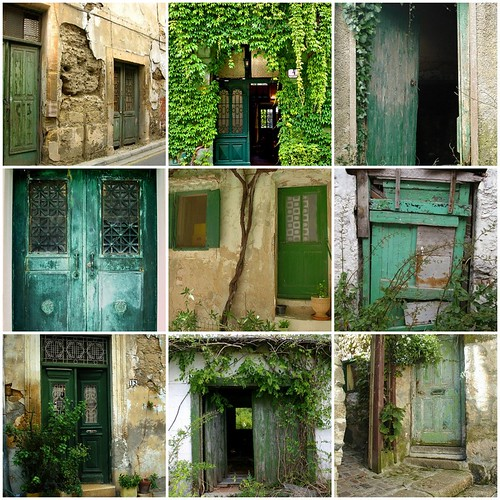 My love of Green Doors
