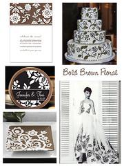 2378050887 8dfc90ac70 m Baú de ideias: Decoração de casamento marrom (chocolate) e outras cores