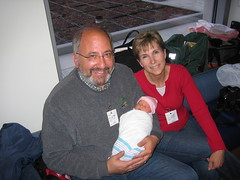 Eliara with Grandma and Grandpa