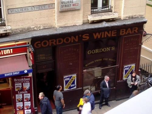 Gordons Wine Bar London Gordon 39 s Wine Bar Embankment