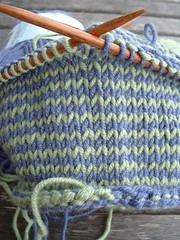 Spiral baby hat