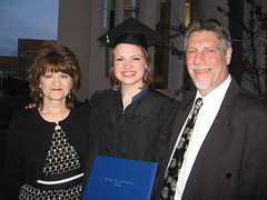 Mom and Dad with the Graduate