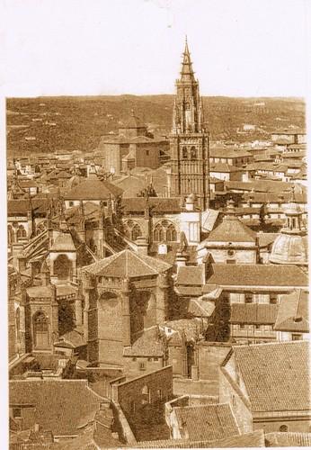 Catedral de Toledo, España desde el Alcázar