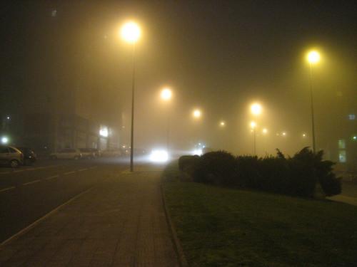 Niebla nocturna