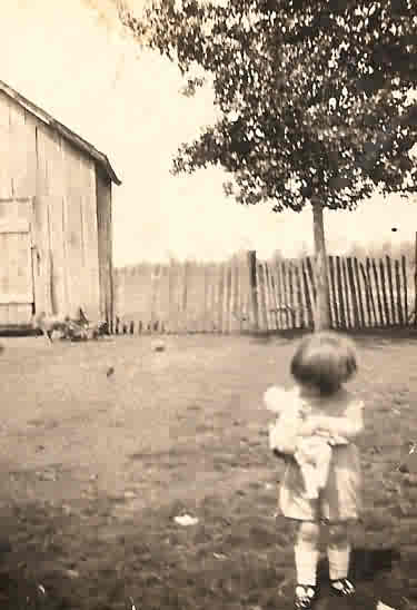 grandma nancy as a toddler
