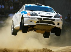 X Games Rally Car Racing (Eric Wolfe) Tags: california usa cars carson jumping unitedstates races automobiles xgames actionsports rallycarracing original:filename=2006080523394jpg