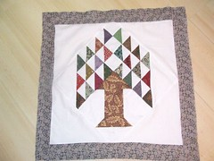 Tree Quilt Green Border