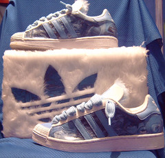half shells (lyns1) Tags: character sneakers custom adidas customised