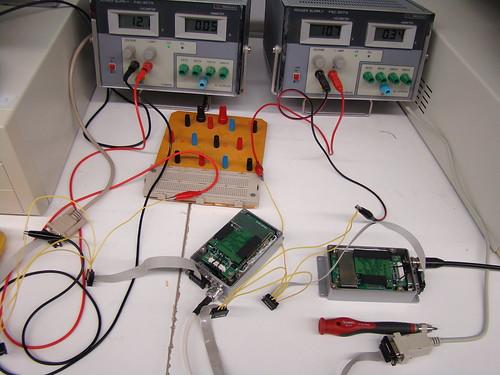 Provant les comunicacions ràdio entre PC-PC