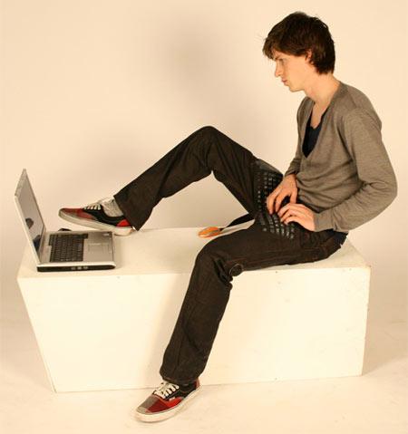 Lo ultimo en moda, Pantalon Teclado xD