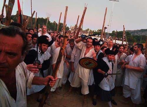 Moros i Cristians. Pollença. Patrona 2008