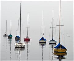 Rockport Harbor (Sean McNamara) Tags: rain fog boats harbor nikon sailing massachusetts utata d200 sailboats rockport bigmomma 3wayicon abigfave goldstaraward