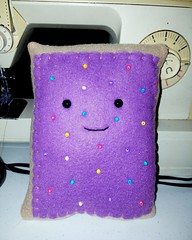 Plushie pop-tart (bennysmumma) Tags: swapbot plush poptart handmade