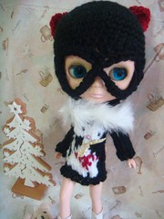 Blythe as cat girl