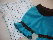 Inspiration 'Bloomers' and Butterfly print Tshirt (12-18mo/med) *Seconds*