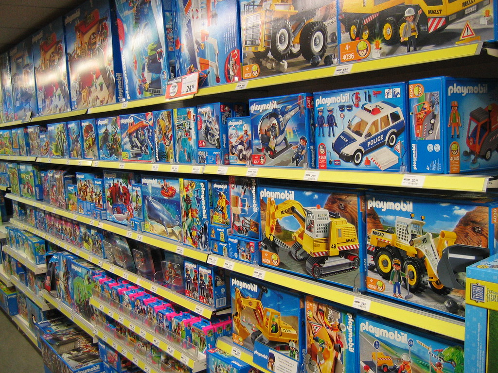 Playmobil in the store...