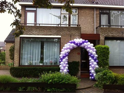 Ballonboog 6m 65e Verjaardag Oud Beijerland