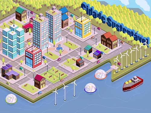 Sustainable City (by: Marcos Xotoko, creative commons license)