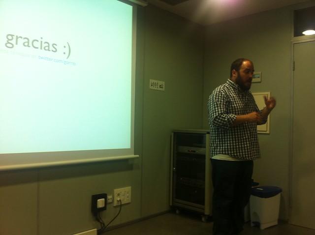 Jesús Gorriti en Cadius Zaragoza