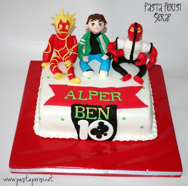 Ben 10 cake- Alper