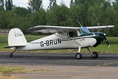 G-BRUN (QSY on-route) Tags: club fly 55 th aero in lincon sturgate egcs gbrun 04062011