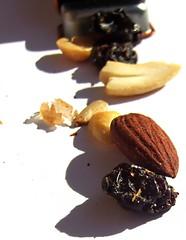Follow the trail (mix) (Darwin Bell) Tags: nuts almond cashew raisin scavengerhunt trailmix whiteground outstandingshots twtme mywinners outstandingshot aplusphoto theunforgettablepictures msh0508 proudshopper twtmesh350715 msh05086
