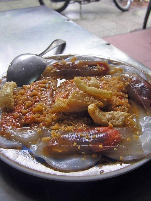 Banh Beo at Ba Hoa, Hue