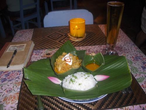 Chicken Amok