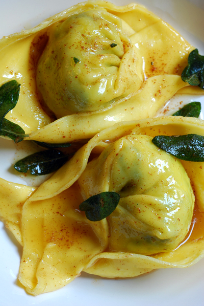 cappellaci with sage burnt butter sauce© by haalo