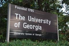 University of Georgia - Athens, GA