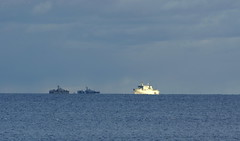 military ships bei ystad (deErisch) Tags: sweden schweden ystad geokeller