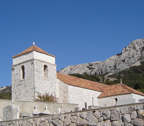 Krk, the church of St. Lucy