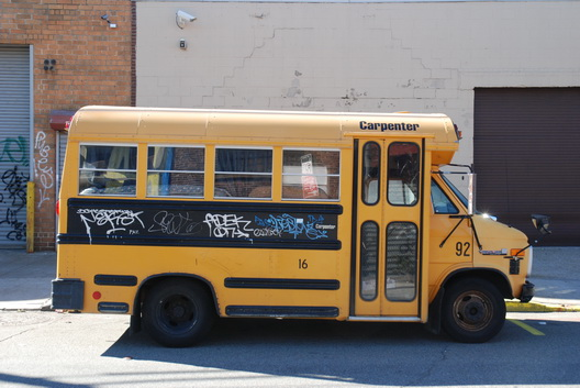 Parked Bus