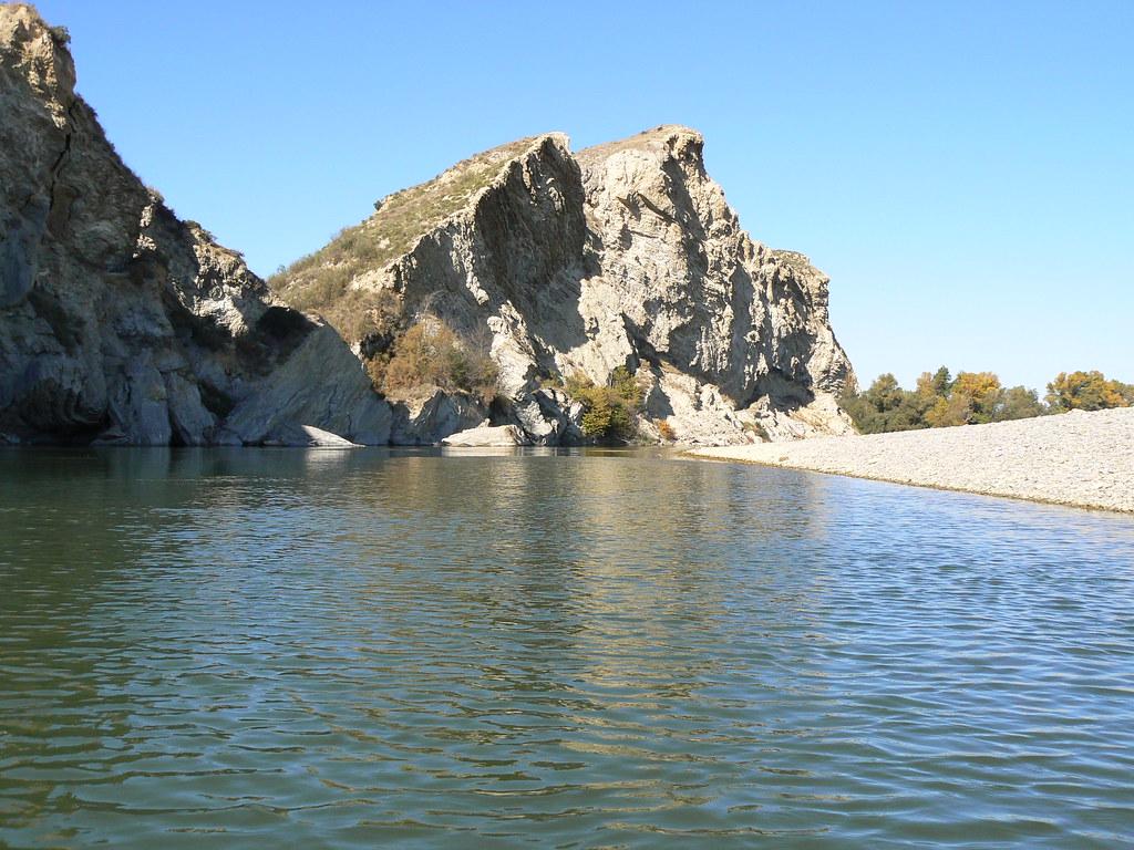 Río Aragón con el Arga en Otoño 011