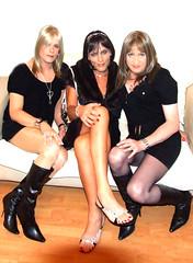 Sarah, Emma, & Adara (emma31tv) Tags: november manchester 2007 tgirls tvchix