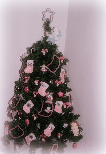 Hello Kitty Christmas Tree.My Hello Kitty Christmas Tree 2007 A Photo On