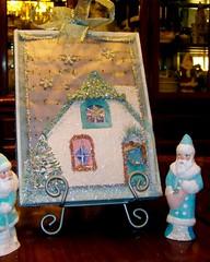 White Christmas & Vintage Santas
