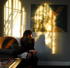 The Light through the window
