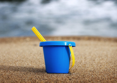 Empty Bucket at Punta Del Este