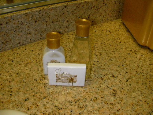 Lotion, soap and shampoo from Flickr