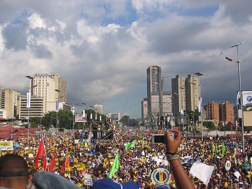 Caracas al grito del NO