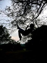 Aim High (dwendus) Tags: boy sky contrast swing josh sillouette lightanddark berea dwendus
