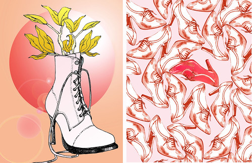 shoe illustrations