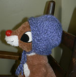 **SALE: 25%off!** Rushty! An Original Little Turtle Knits Hat