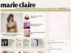 Marie Claire - 09 décembre 2007