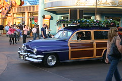 """1951 Mercury Woody Wagon ((Concepts by) Nicholas Daniel """"@tak"""" Lopez) Tags: california thanksgiving park 2 vacation two orange baby holiday cute green water girl wheel giant downs wagon french pier high day ride dinosaur mercury sofia burger parks sausage woody ferris disney mcdonalds syndrome adventure musical fries wharf theme anaheim invasion mulholland 1951 schol disnayland"""