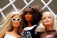 Barbies Holiday (spiky face) Tags: fantastic doll barbie babe plastic kensparty upskirt kayla barbiethursday barbierotica urblog