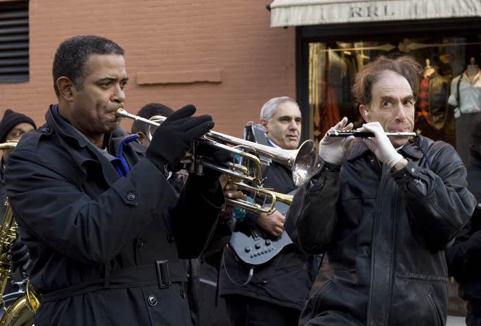 The trumpet and the piccolo